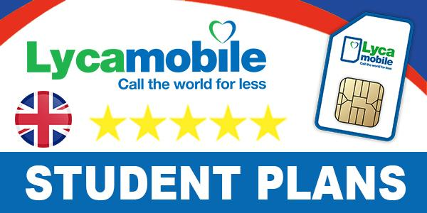 Lycamobile UK Student Plans