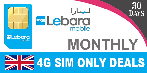Lebara 4G Sim Only Deals