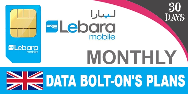Lebara Data Bolt-On's Plans