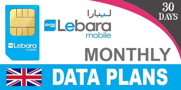 Lebara Mobile UK Data Plans