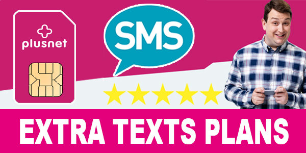 Plusnet Mobile Extra Texts Plans