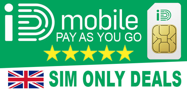 ID Mobile Pay As You Go SIM Only Deals