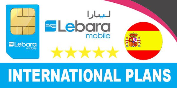 Lebara Spain International Plans