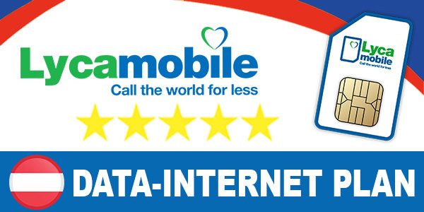 Lycamobile Austria Internet Plans