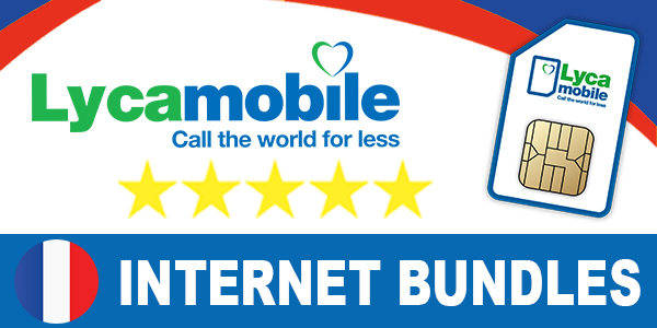 Lycamobile France Internet Bundles & Plans