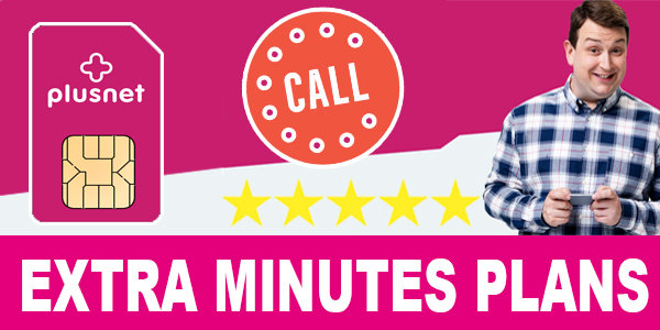 Plusnet Mobile Extra Minutes Plans