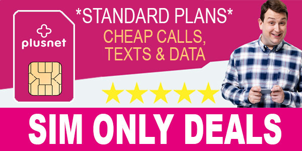 Plusnet Mobile SIM Only Deals