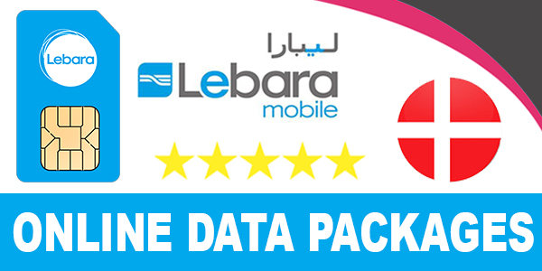 Lebara Denmark Online Data Packages