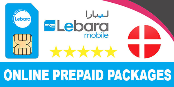 Lebara Mobile Denmark Online Prepaid Packages